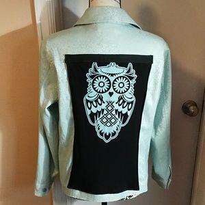 Super cute owl jacket